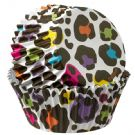 Leopard ColorCups Standard Baking Cups 36 Count